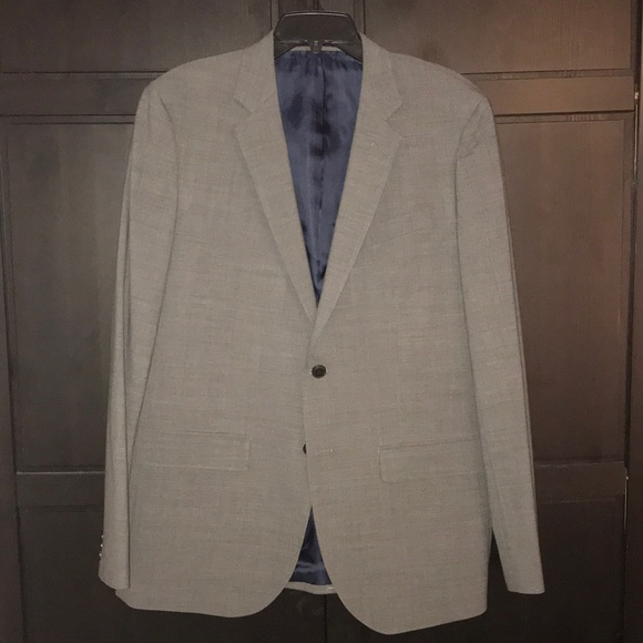Lucky Brand Other - Lucky Brand Men's Charcoal 2 Button Blazer NWT